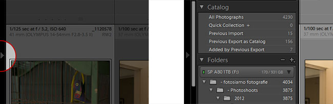 Lightroom 4 Arrow-Toggle