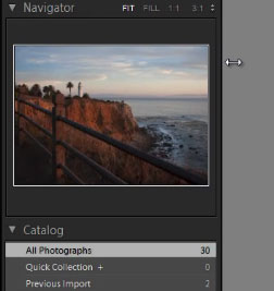 Lightroom 4 Drag-Panel-Size
