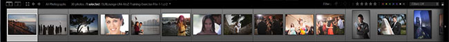 Lightroom 4 Film-Strip-Panel