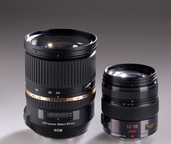Panasonic 12-35mm Tamron 24-70mm