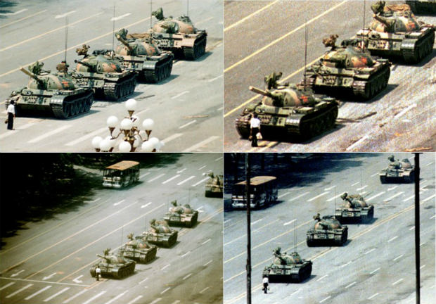 Tiananmen Square Tank Man 2