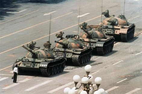 Tiananmen Square Tank Man