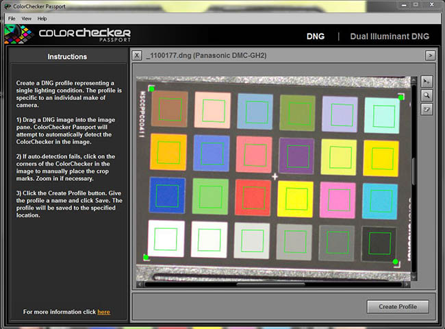 Color Checker Passport Stand Alone