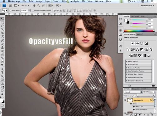 Opacity vs Fill