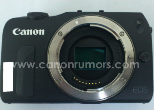 Canon EOS M courtesy of CanonRumors.com & Digicame-info.com