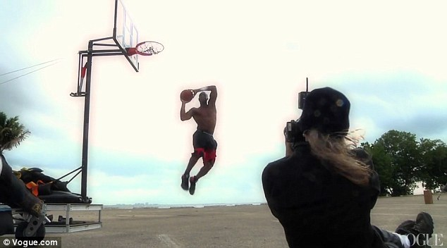 Dwyane Wade by Annie Leibovitz for June 2012 US Vogue