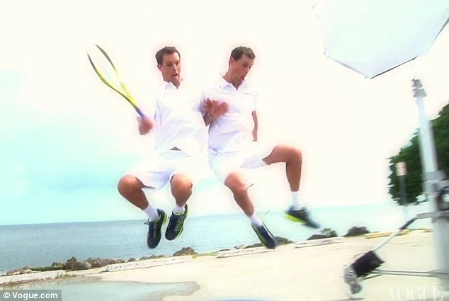 Mike and Bob Bryan Composite 1 by Annie Leibovitz for June 2012 US Vogue