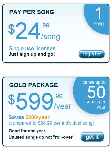 Song Freedom Prices
