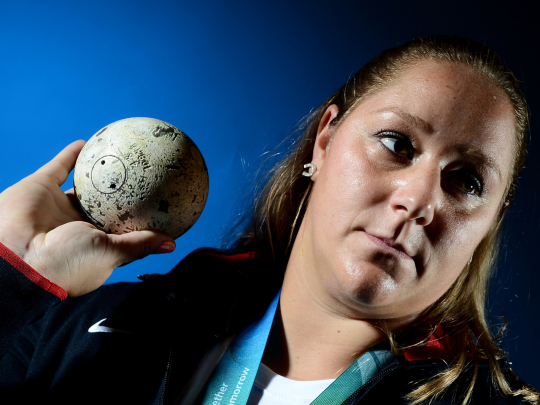 Shot putter Jillian Camarena-Williams