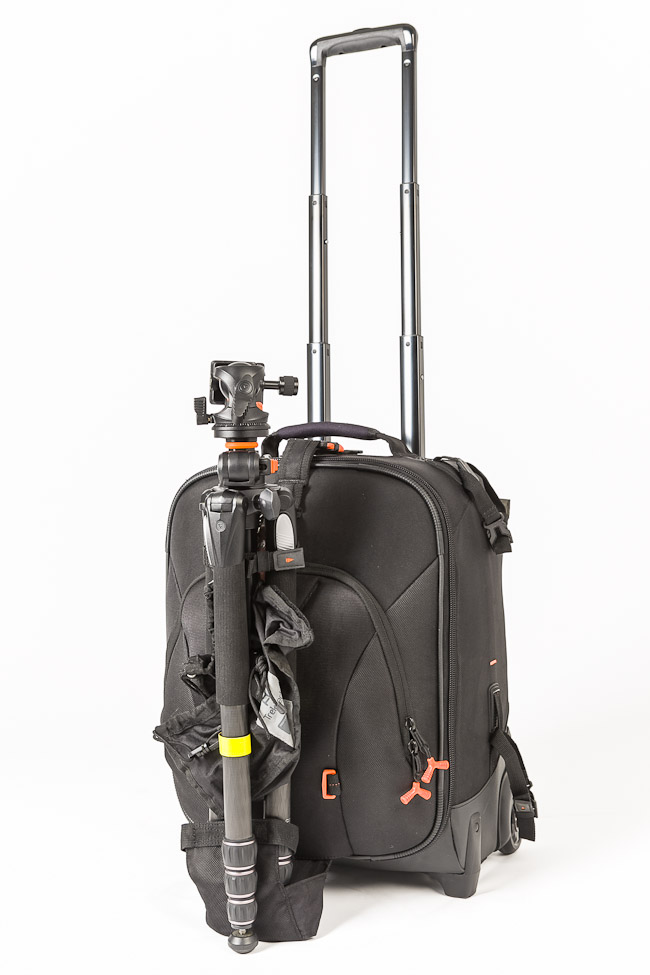 Vanguard Xcenior 48T SLRLounge with tripod