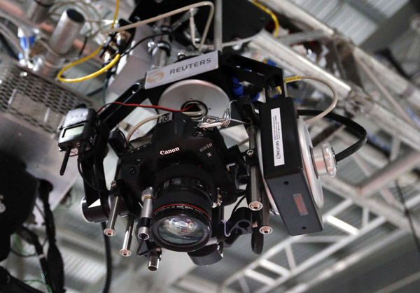 Olympic Reuters Robo-cam