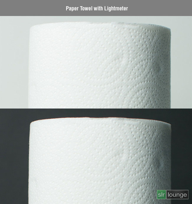 Paper-Towel-Lightmeter by SLR Lounge