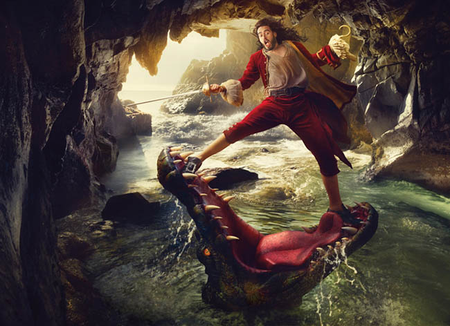 Russell Brand Appears as Captain Hook in New Disney Parks Dream Portrait by Annie Leibovitz