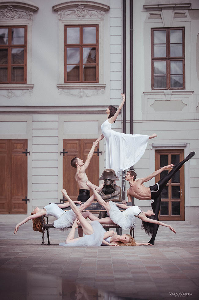 National Slovak Theater Dancers in Slovakia by Von Wong
