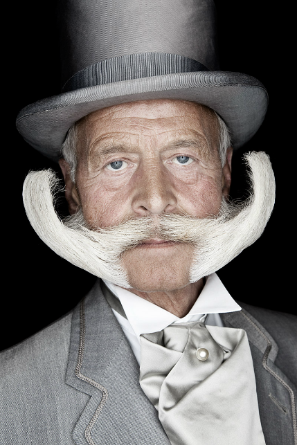 Portraits of Beards &amp; Mustaches by Matt Rainwaters