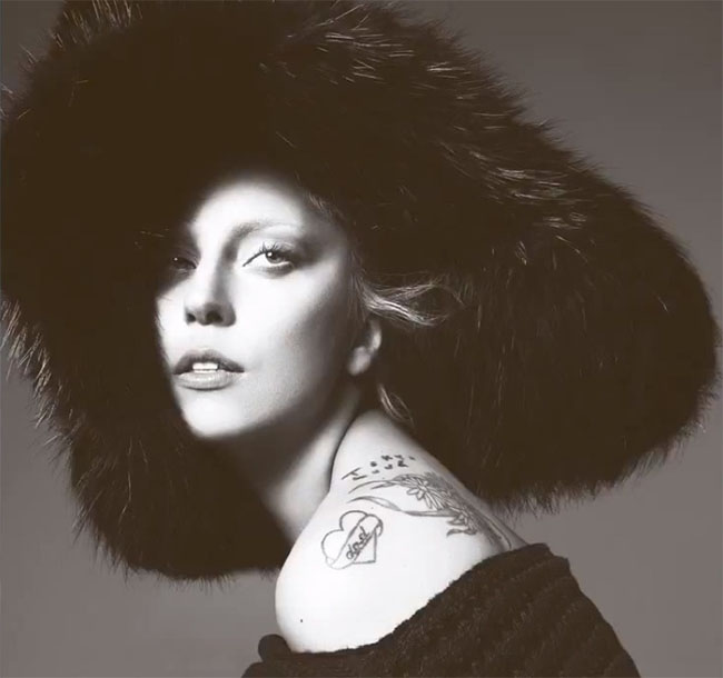 Lady Gaga for September Vogue by Mert & Marcus