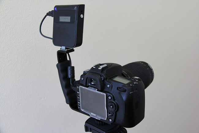 CameraMator on L-Bracket