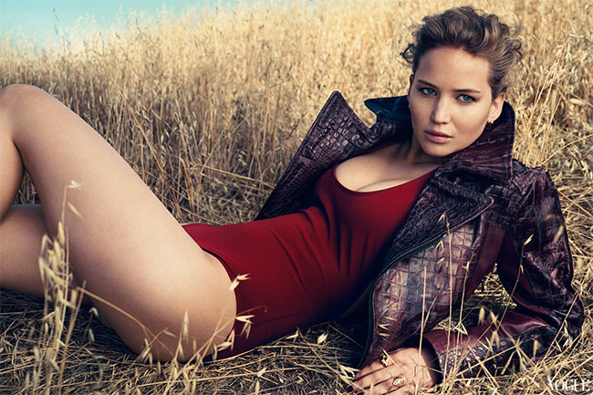 Jennifer Lawrence for Vogue 120 by Norman Jean Roy