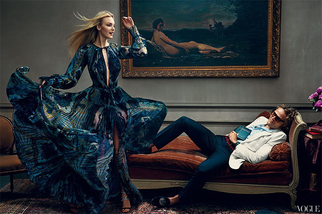 Peter Dundas for Vogue 120 by Norman Jean Roy