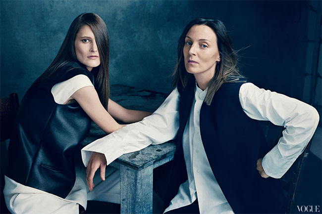 Phoebe Philo for Vogue 120 by Norman Jean Roy