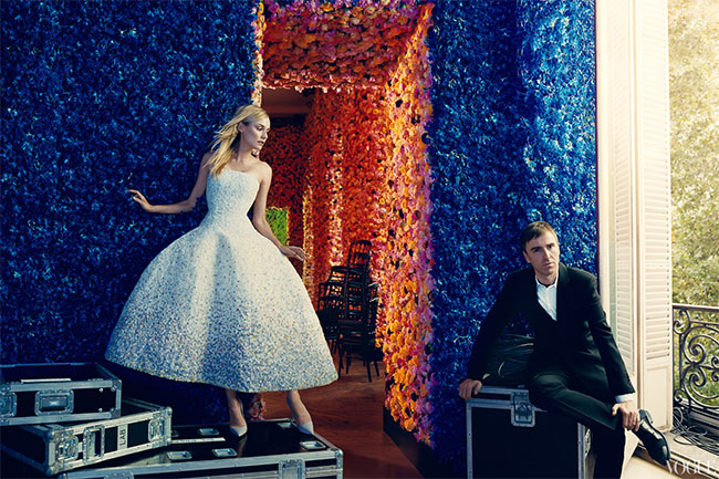 Raf Simons for Vogue 120 by Norman Jean Roy