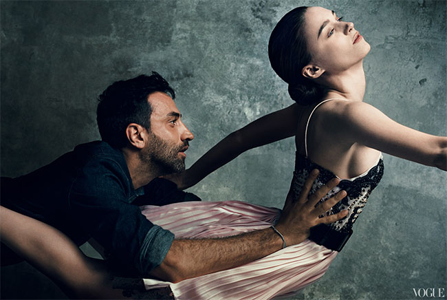 Riccardo Tisci and Rooney Mara for Vogue 120 by Norman Jean Roy