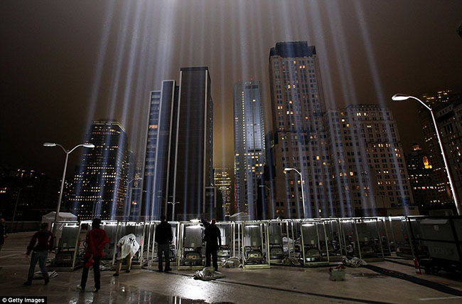 00 Tribute in Lights by Getty Images