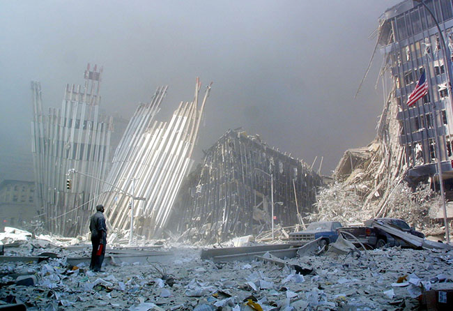 9/11 by Doug Kanter (AFP/Getty Images)