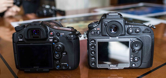 Sony A99 vs Nikon D800 on Phoblographer