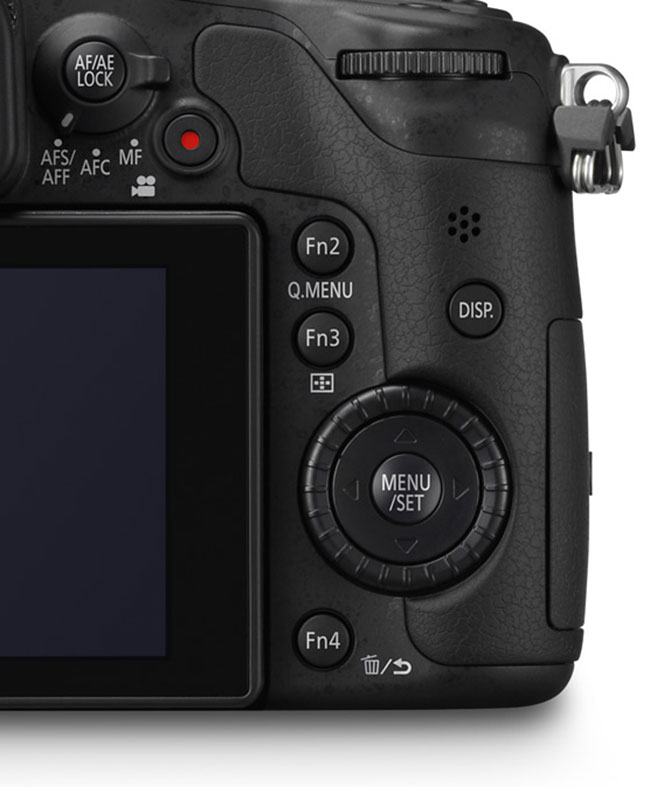 Panasonic-GH3-back-controls
