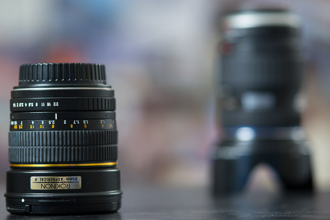 DOF on SLR Lounge Shooting Guide