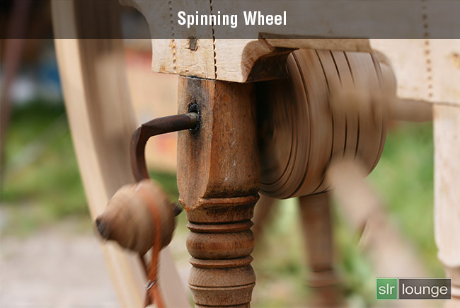 Spinning wheel by Hlavkom