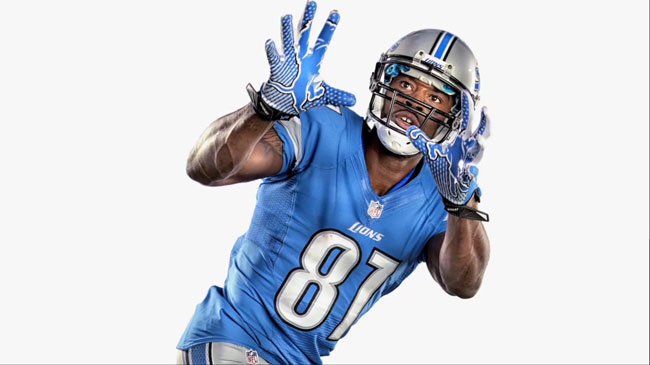 Calvin-Johnson EA Sports Madden NFL