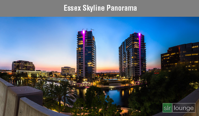 Essex Skyline Panorama by Joe Gunawan | fotosiamo.com