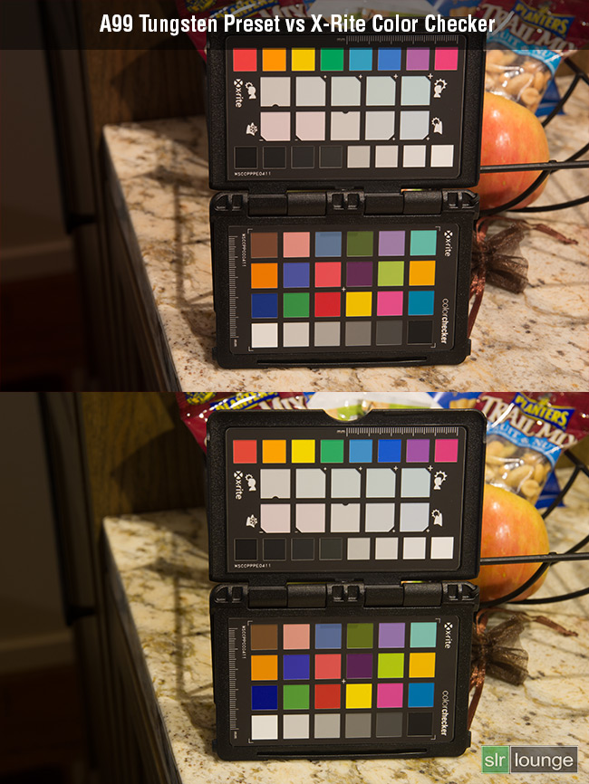 Test Tungsten-vs-ColorChecker-SLRLounge-[M1295]-Sony-A99
