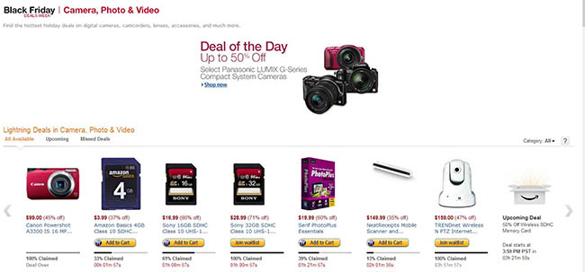 Amazon Deal of the week Lightning Deals