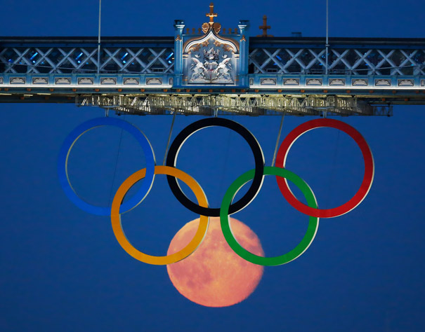 Moon at London Olympics by Luke MacGregor/Reuters