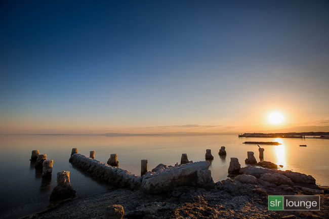 Salton Sea, California | Bracketed HDR Photograph After