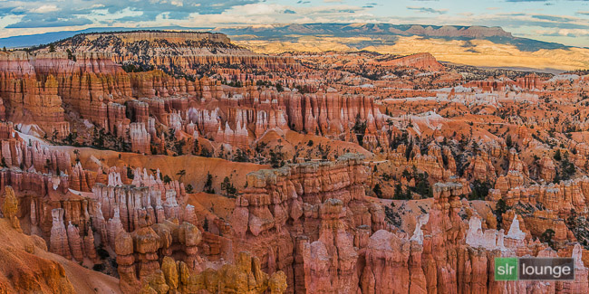 Bryce Canyon, Utah | Single-Shot Panoramic HDR Photograph After