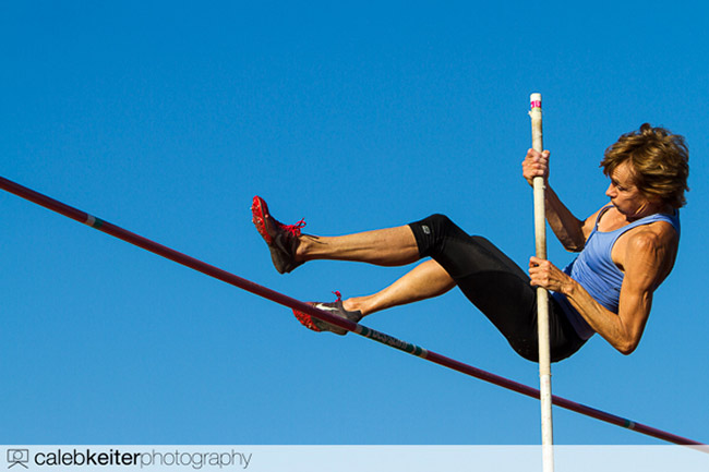 Pole Vaulter by calebkeiter