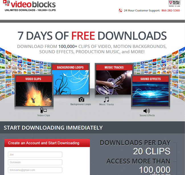 Free-Stock-Music-&-Video-Promo