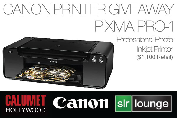 Canon Printer Giveaway | Canon PIXMA PRO-1 Free Photography Tips Tutorials Reviews and Wordpress Themes | Photography tips and photography tutorials and more