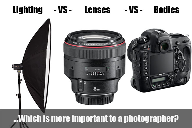 Which Equipment Is More Important: The Lighting, The Lens, or The Camera? Free Photography Tips Tutorials Reviews and Wordpress Themes | Photography tips and photography tutorials and more