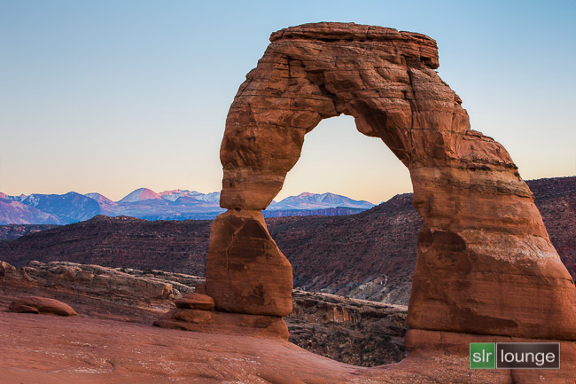 Delicate Arch in Arches | Moab, Utah Before